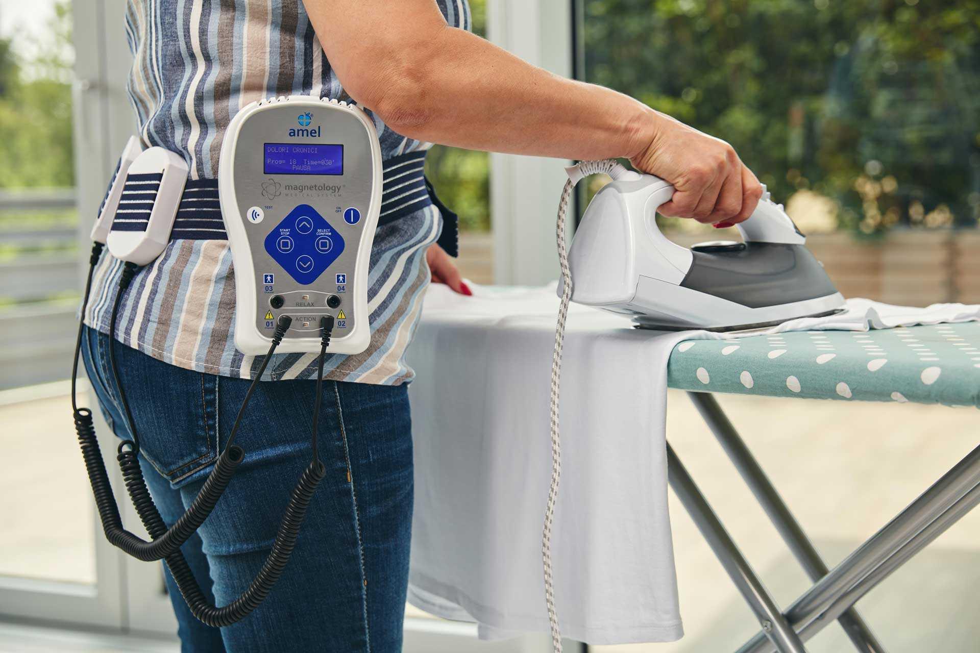 I moderni dispositivi per magnetoterapia sono semplici da utilizzare, estremamente maneggevoli